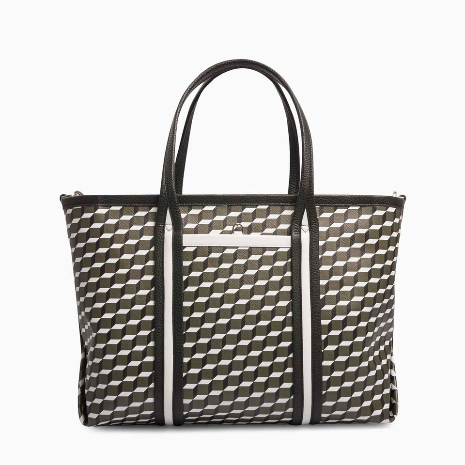 CUBE PERSPECTIVE TOTE