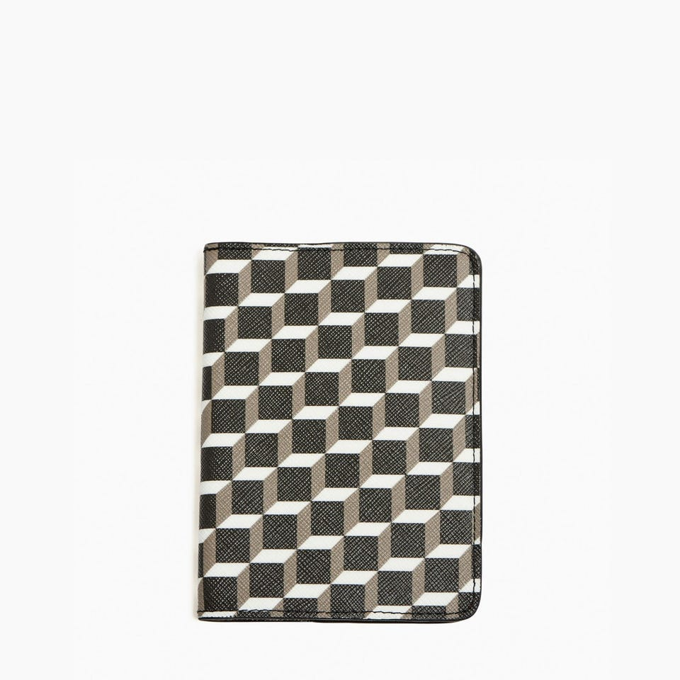PERSPECTIVE CUBE PASSPORT HOLDER