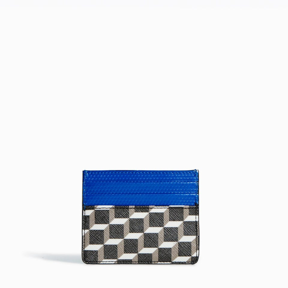 CUBE PERSPECTIVE CARD CASE