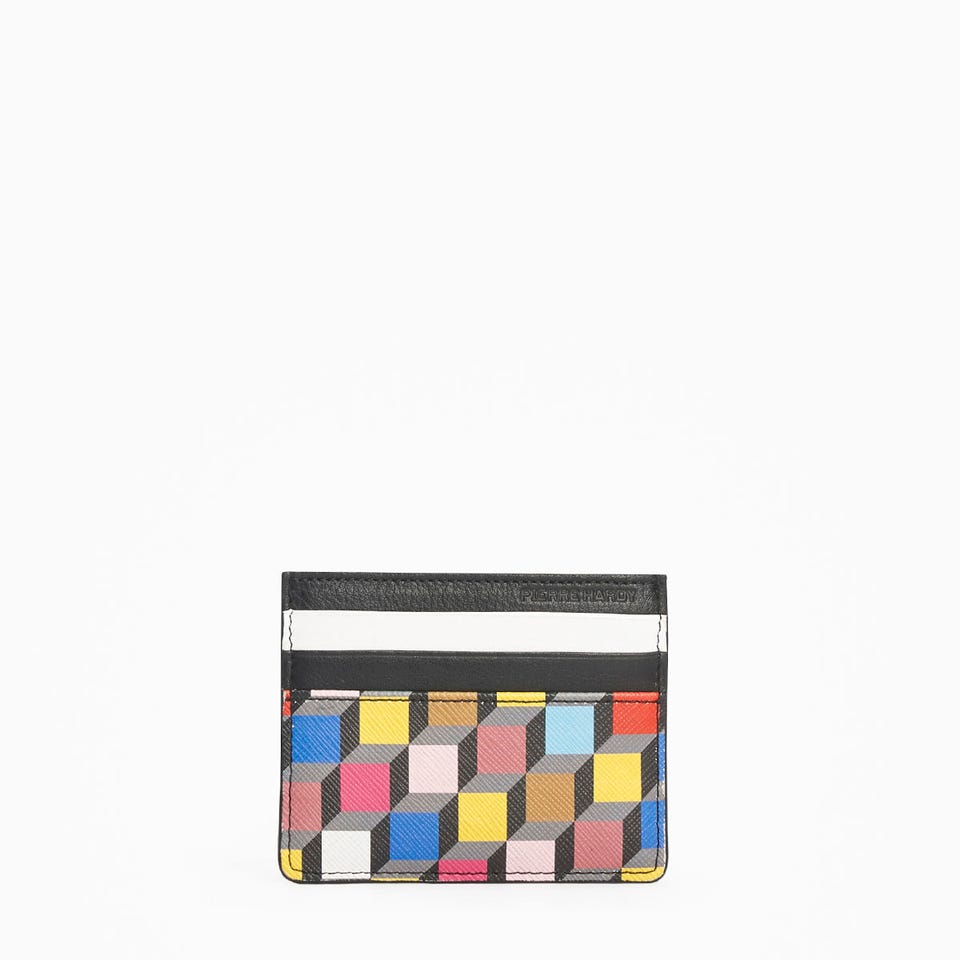 PERSPECTIVE CUBE CARD CASE