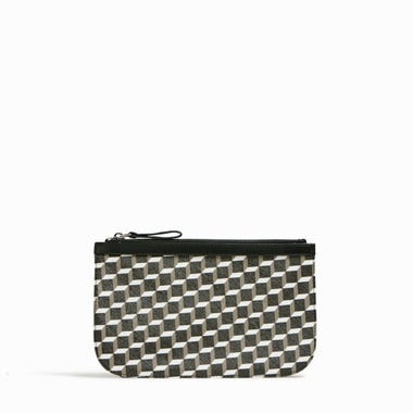 PERSPECTIVE CUBE MEDIUM POUCH