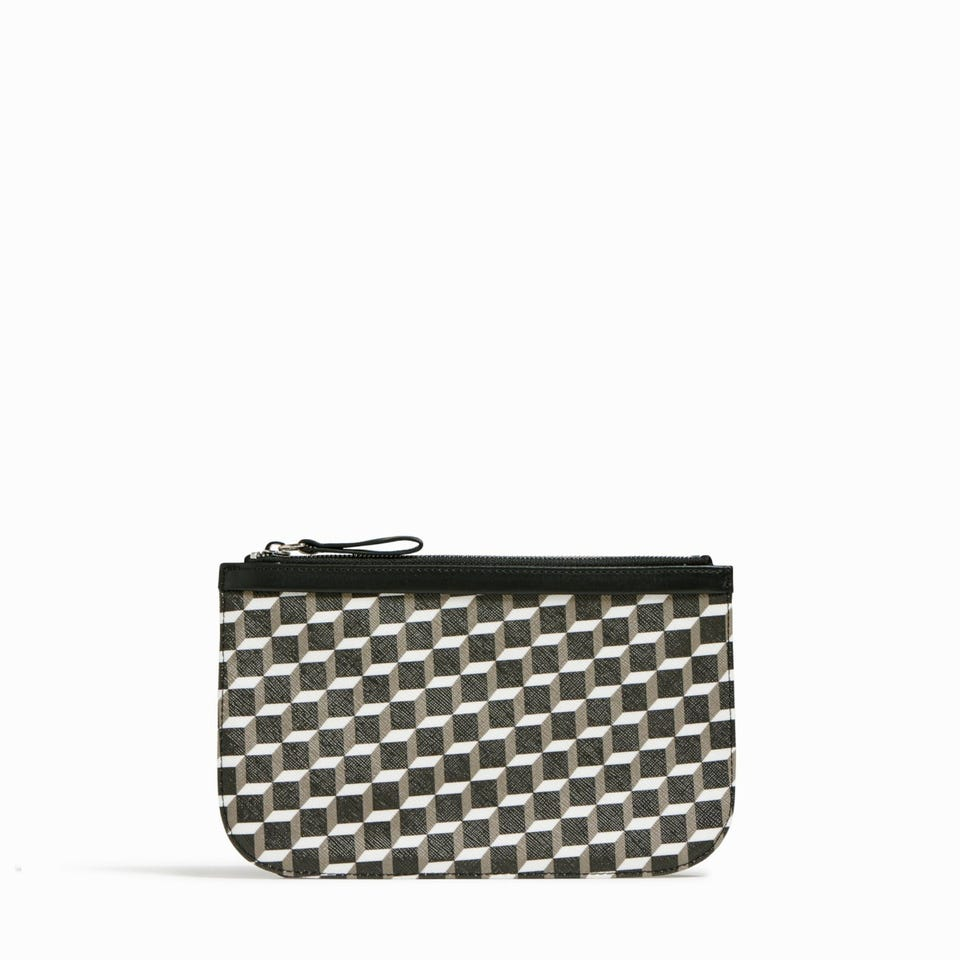 CUBE PERSPECTIVE POCHETTE MEDIUM