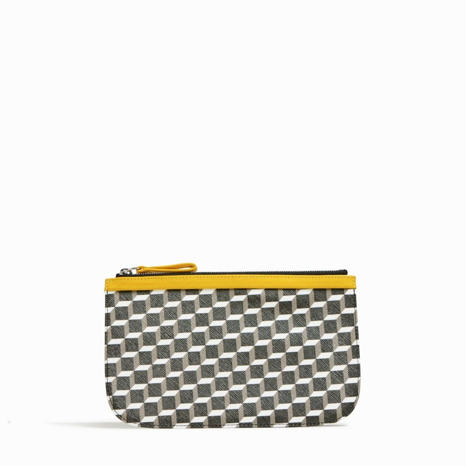 CUBE PERSPECTIVE MEDIUM POUCH