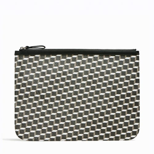 CUBE PERSPECTIVE POCHETTE EXTRA LARGE