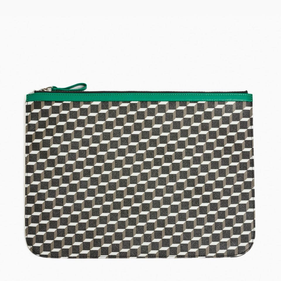 CUBE PERSPECTIVE POUCH