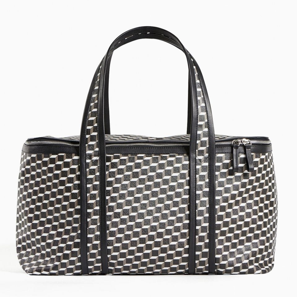 PERSPECTIVE CUBE TRAVEL BAG