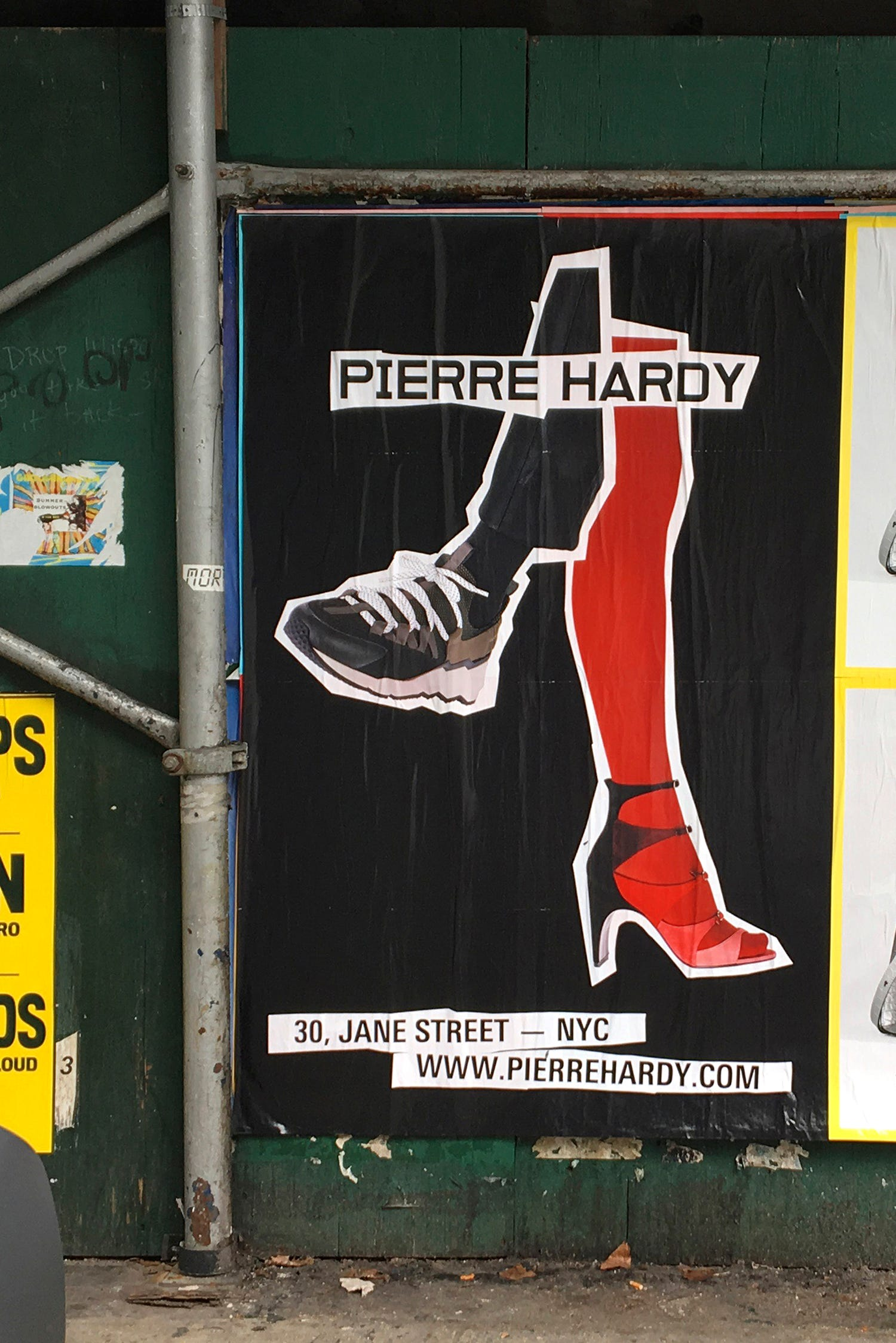 PIERRE HARDY STREET CAMPAIGN — NYC