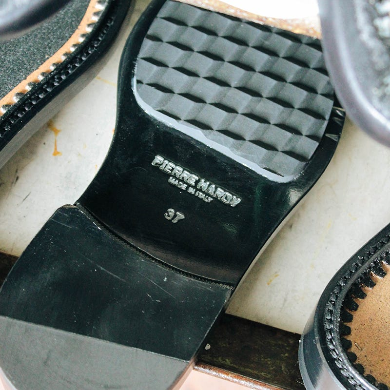 Manufacture of PIERRE HARDY luxury shoes
